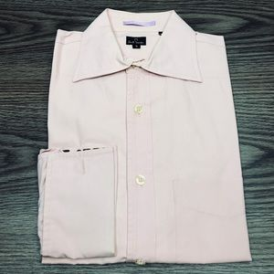 Paul Smith Pink French Cuff Dress Shirt S 14-14.5